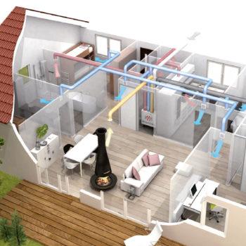 Impianti vmc ventilazione meccanica controllata e ricambio aria a roma - La cucina di aria ...